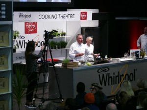 Event recording cooking demo