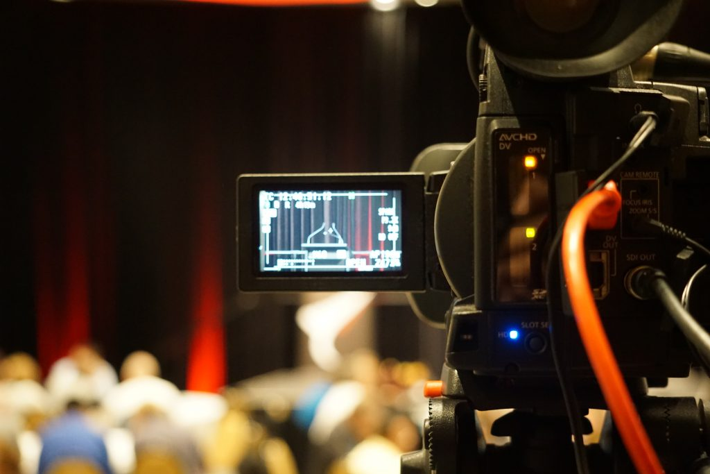 Main Camera at the Atainz annual conference at the Rutherford hotel in Nelson