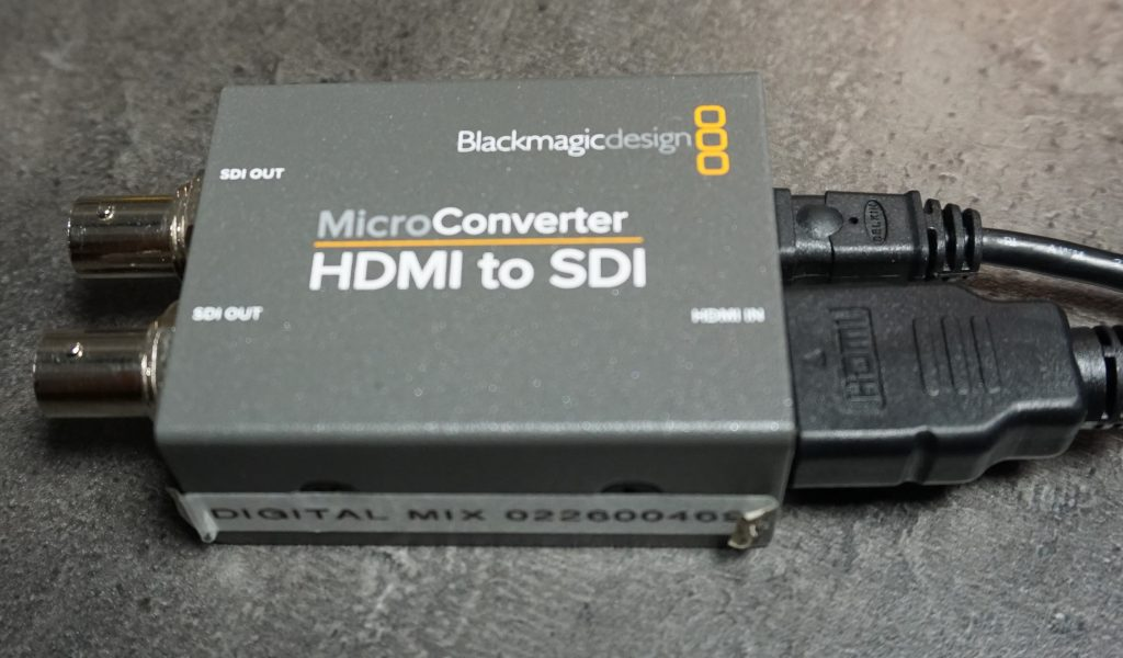 Blackmagic Microconverter Hire HDMI to SDI Converter