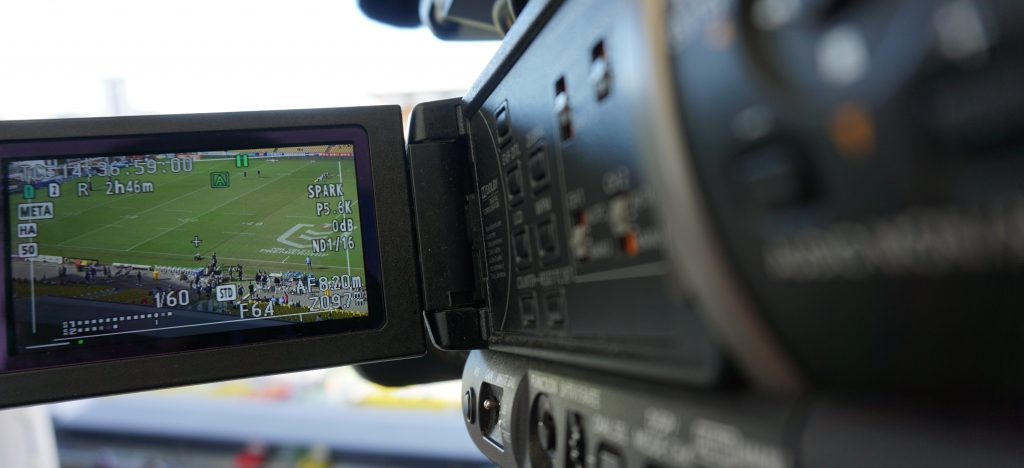 Sports Performance Analysis with video camera and recording