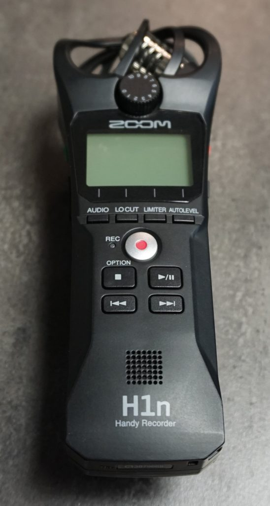 Zoom H1 N audio recorder