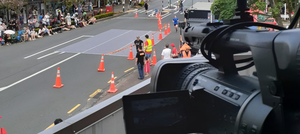 Howick Santa Parade camera position 1