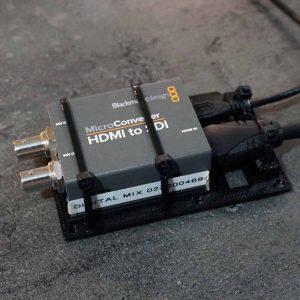 cable-brace for Blackmagic Micro Converter series